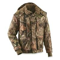 New Guide Gear Mens Guide Dry Hunt Parka, Waterproof, Insulated Mossy Oak