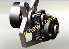 Rampage CNC 2 Speed Transmission, 2 Speed Transmission, 1:5 Transmission, Redcat