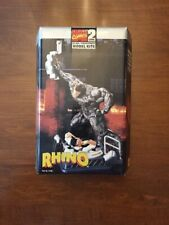 Marvel Toy Biz Model Kit Rhino Spiderman Glue Together Level 2 Vintage 1999