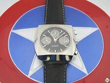 Serviced Vintage Style NOS Like Le Jour Chronograph 7765 Valjoux 3D Gray Panda