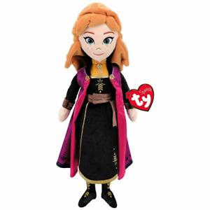 "New TY Original ANA The Princess 15.5"" Stuffed Plush Doll (Sparkle Frozen 2)NWT"