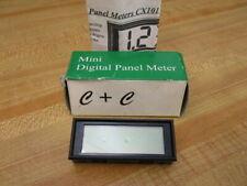 Cc Cx101 Miniature Lcd Digital Panel Meter