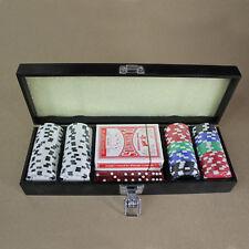 Metal Box Poker Chips Set
