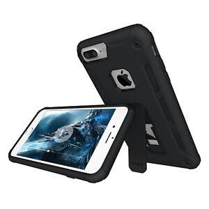 Kickstand Case iPhone SE / 8 / 7 / Plus Ständer Aufstellbar Schutz Hülle Folie