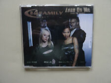 """Maxi - CD, 2-4 Family """"Lean on me"""" 1999 Sony Music Entertainment (Germany) GmbH"""