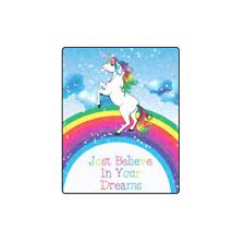 Fashion Soft Blanket Unicorn Rainbow Blanket 40x50 IN Soft Bedding Home Decor