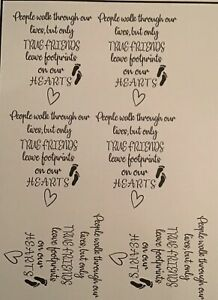 Write your Own Personalised Verse for Candles  Vinyl Wedding Unity Gift