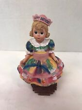Madame Alexander Classic Collectibles  Happy Birthday Figurine Dolls