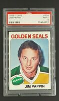 1975 Topps #234 Jim Pappin Golden Seals PSA 9 Mint Only 13 Graded Higher