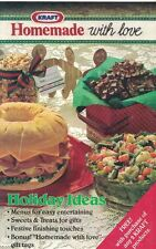 Kraft HOMEMADE WITH LOVE Holiday Ideas Menus Gifts to Make Decorating & More