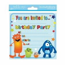 Buy football birthday cards and stationery for children ebay 16 x boys birthday invite party invitations 4 designs choose m4hsunfo