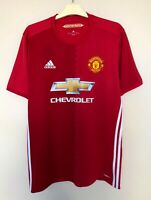 FC MANCHESTER UNITED 20162017 HOME FOOTBALL JERSEY CAMISETA SOCCER MAGLIA SHIRT