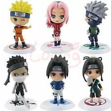 "6Pcs Anime Naruto Shippuden Sasuke Haruno Sakura Set PVC 2""-3"" Doll Figures"