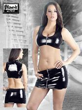 Bauchfreie Damenblusen,-Tops & -Shirts mit Rundhals für Freizeit
