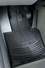4 BMW OEM X6 All Weather Rubber Floor Mats - BLACK