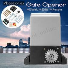 Sliding Gate Opener 1000kg Electric Operator Automatic Motor W Remote  UK