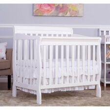 Dream On Me Aden 4-in-1 Convertible Mini Crib in White
