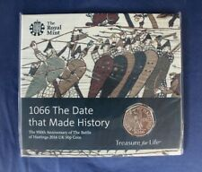 """2016 Royal Mint 50p coin pack """"Batlle of Hastings"""" - Factory Sealed    (C8/36)"""