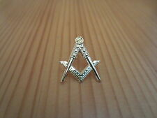 Masonic Lapel Pins Badge Mason Freemason B40 Compass And Square Hollow out