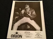 ORION (aka Jimmy Ellis) AUTOGRAPHED PROMO PHOTO 8 X 10