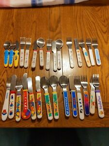Children Cutlery bundle Forks, Spoons and knifes, Tweenies, Paddington & others