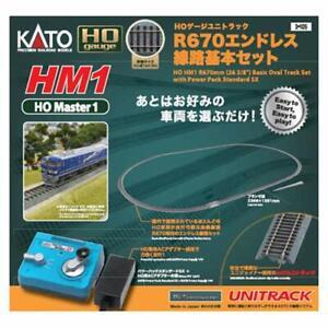 KATO 3-105 HO Gauge Unitrack HM1 R670 Endless Track Basic Set