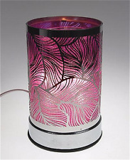 New Electric Fragrance Aromatherapy Oil Lamp Warmer Diffuser Touch On/Off Purple