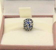 AUTHENTIC PANDORA CHARM Sky Mosaic Pave, Mixed Blue , 791261NSBMX  #101
