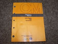 John Deere 70D 70 D Excavator Operator Owner User Guide Manual OMT114713