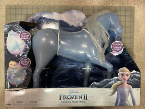 """Disney Frozen 2 Elsa's Spirit Horse Water Nokk Light-Up and Sounds 15"""" Tall"""