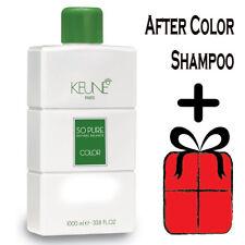 Keune So Pure After Color Shampoo 1 Liter / 33.8oz  Paraben free + Gift