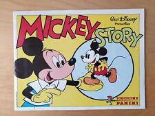 Panini Disney Mickey Mouse Story Album 1981