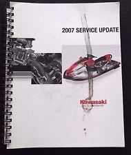 2007 Kawasaki Dealers 1500 Jet Ski Ultra Lx Atv Motorcycle Service Update Manual