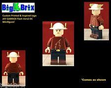 JAY GARRICK Version 2 Flash Custom Printed & Inspired Lego DC Minifigure