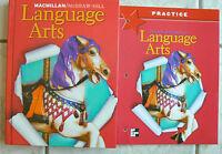 Macmillan/McGraw-Hill Language Arts gr.2/2nd Text & NEW workbook 2005 Homeschool