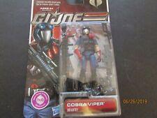 GI Joe 30th Anniversary Cobra Viper Infantry action figure 2011 POC trooper