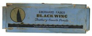 Eberhard Faber Blackwing 602 Box Top - RARE - Sailboat Design