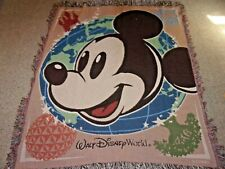 Mickey Mouse Walt Disney World Blanket