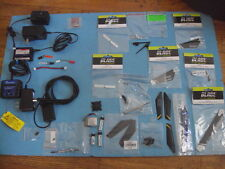 Blade E-Flite Parts Lot, Rotor Blades, Batteries, Chargers,RC HELICOPTER PARTS