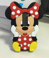 3D Cartoon Minnie Mouse Soft Silicone Back Case For LG Spirit H420 4G LTE H440N