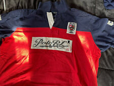 Polo Rwloh Lauren Rugby SS Polo Big&Tall 4xB Red/Blue