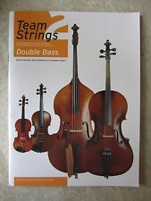 Team Strings Book 2 for Double Bass with many well known tunes  *NEW*
