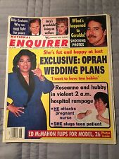 National Enquirer 2/5/91 Oprah Lucille Ball Zsa Zsa Gabor Dolly Parton Roseanne