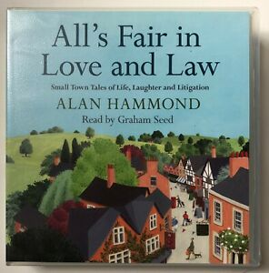 Audio Book ALAN HAMMOND All's Fair in Love and Law on 7 CDs read by Graham Seed