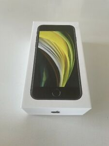 Apple iPhone SE 2020 128GB A2296 MXD02LZ/A Black Factory Unlocked 4G/LTE GSM