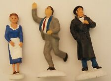 "3 RARE Hawthorne Village 2005/6 People  ""Mary & George Bailey"" and ""Clarence"""