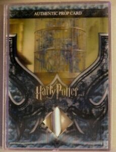 Harry Potter-3D Pt 2-COS-Screen Used-Film-Movie-Prop Card-Pixie Cage-Ci1