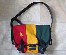 Messenger Computer Bag  Red & Yellow Green  w/ Padded Laptop Holder Timbuk2