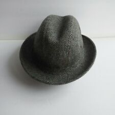 c6b83fe613e Vtg Pedigree Fifth Avenue Men s Wool Blend Fedora Hat Size Small 6 3 4 to