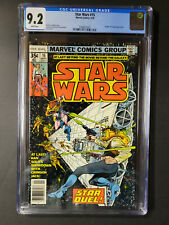 Marvel Star Wars #15 1978 CGC 9.2 White Pages